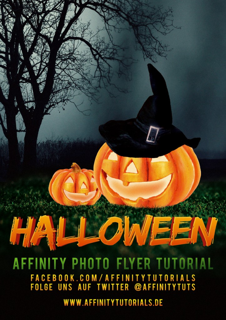 halloween flyer tutorial