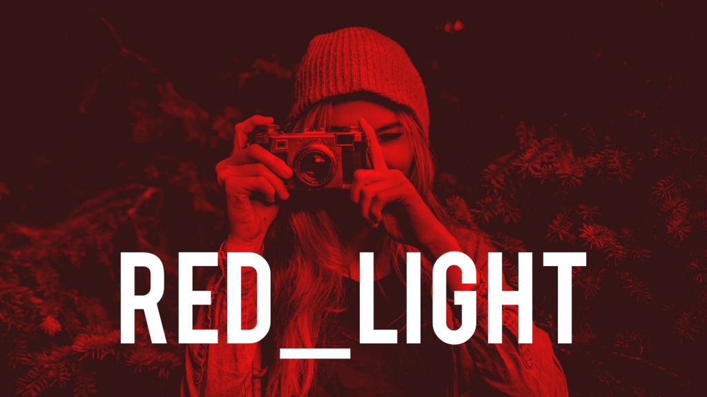 red light effect