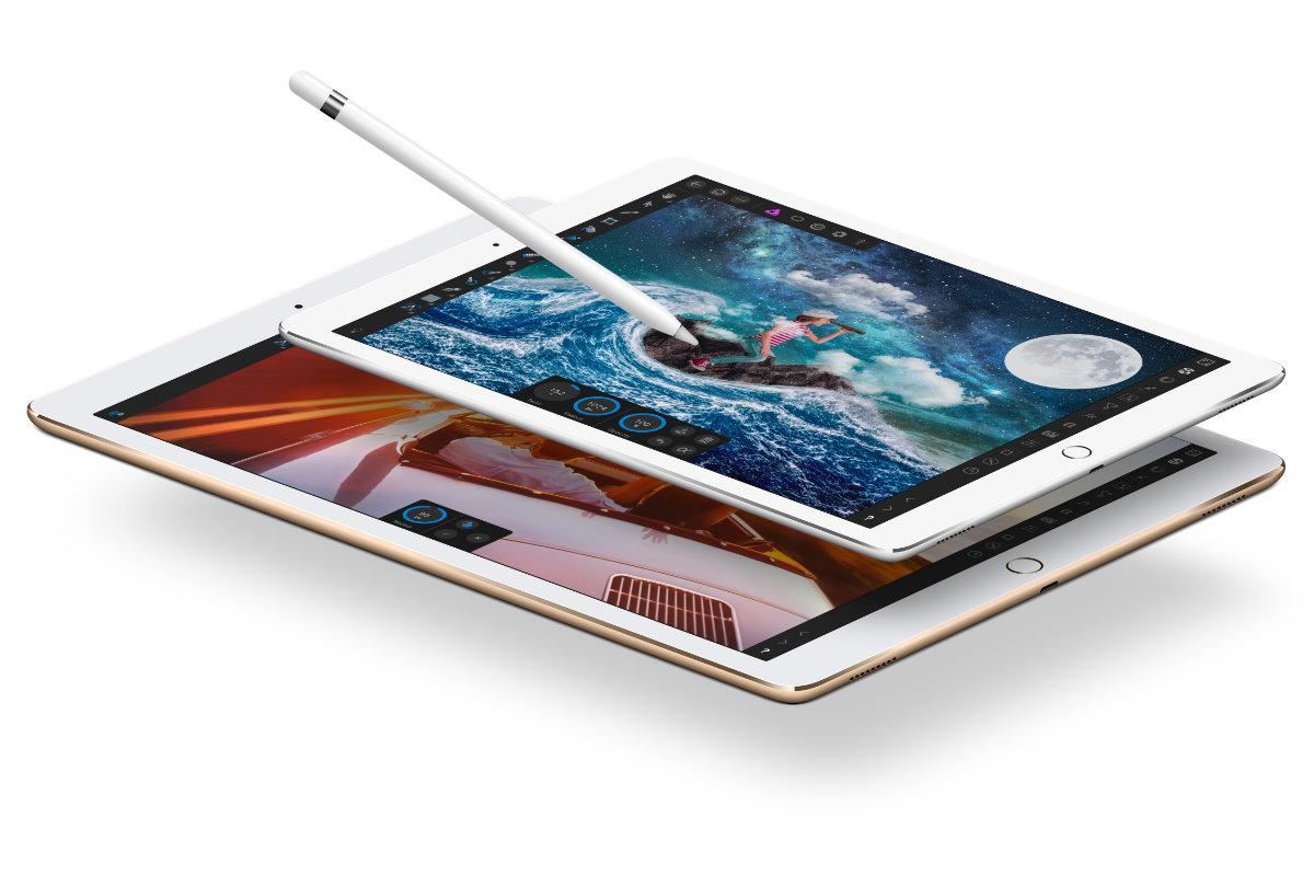 12.9+9.7 iPad Pro Flat