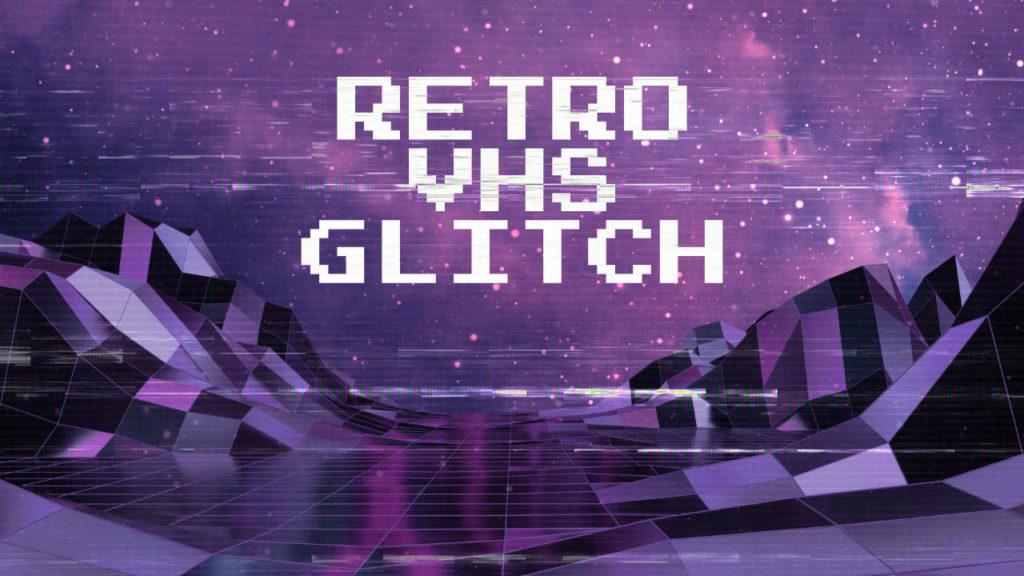 Retro VHS Glitch Affinity